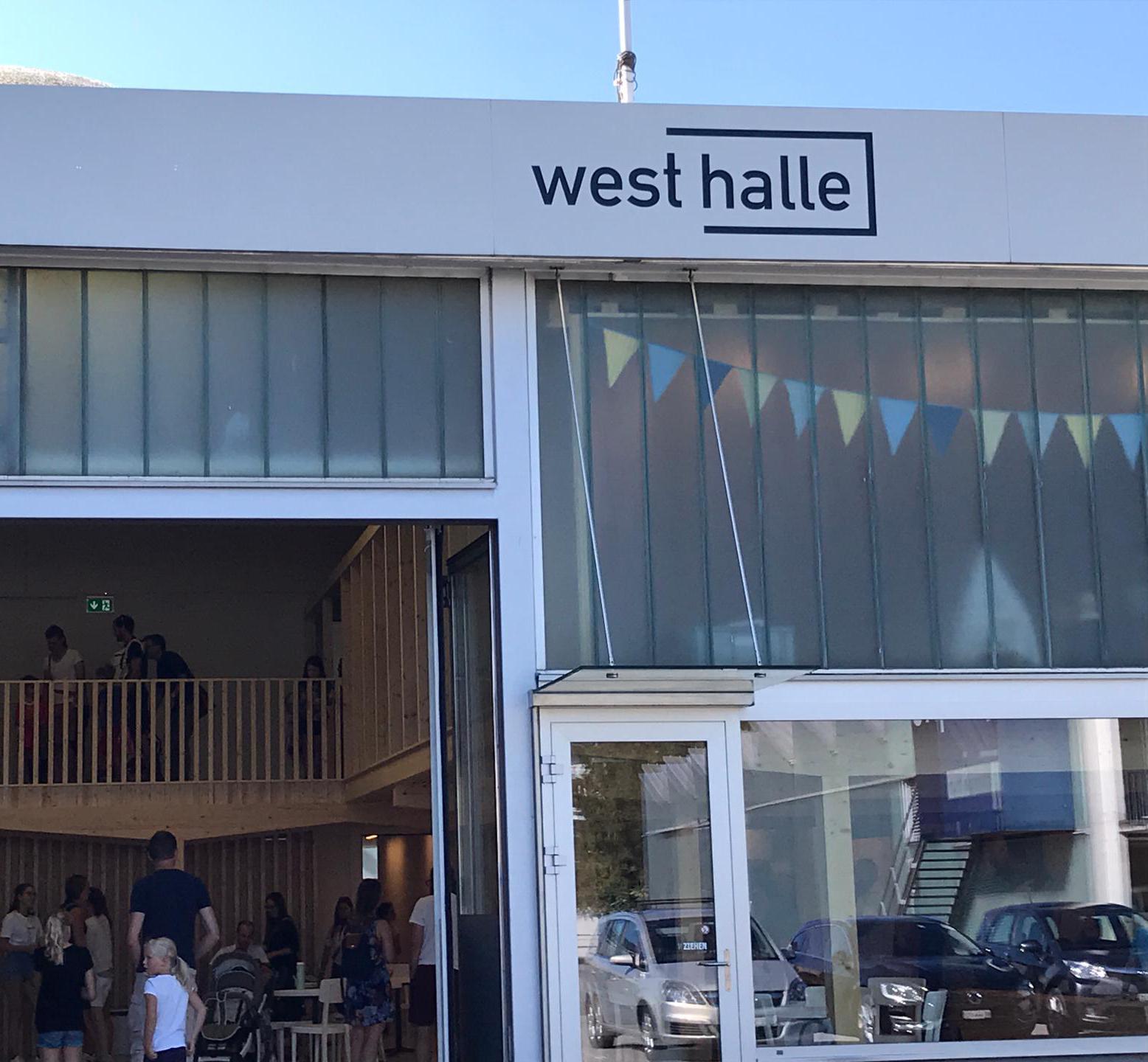 Visuelle Gestaltung Westhalle + Bistro West